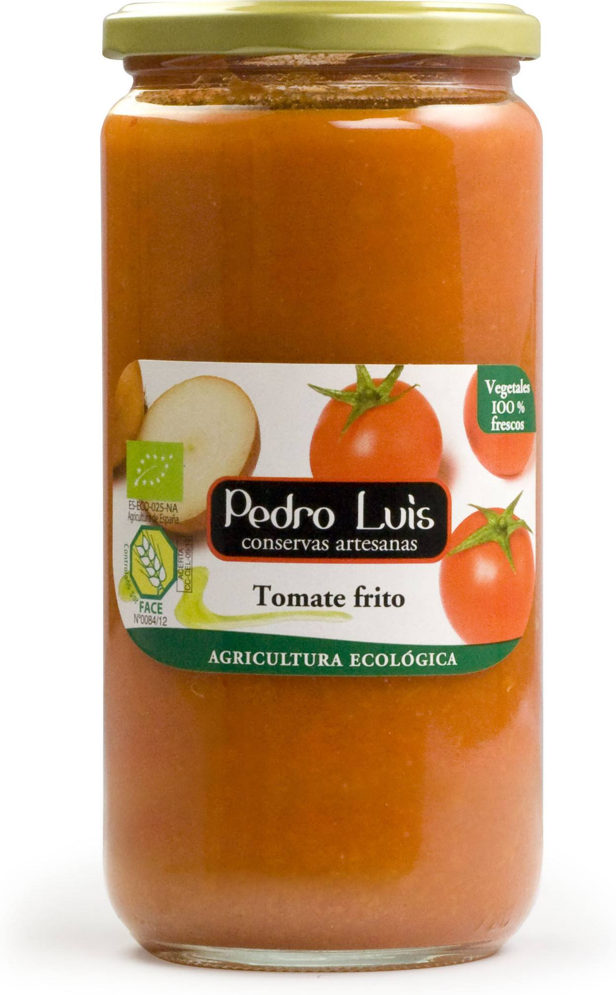 Pedro Luis Tomate Frito Eco S/g Fco. 660 Grs P.n.