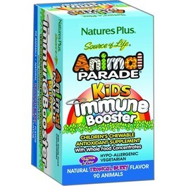 Natures Plus Animal Parade Kids Immune Booster 90 Comp Mastic
