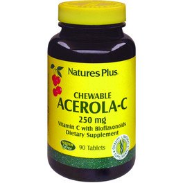 Natures Plus Acerola C 250 Mg 90 Comp