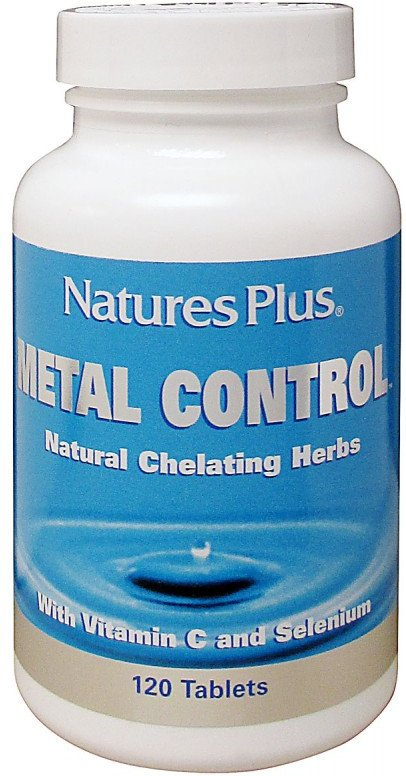 Natures Plus Metal Control 120 Comp