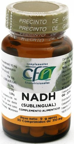 Cfn Nadh 310 Mg 30 Comprimidos Sublinguales