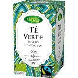 Artemis Bio Te Verde Fair Trade Eco 20 Filtros