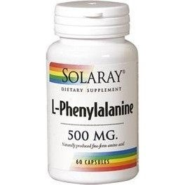 Solaray L-phenylalanine 500 Mg 60 Caps