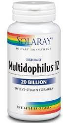 Solaray Multidophilus Tm 12-20 Billion 50 Caps
