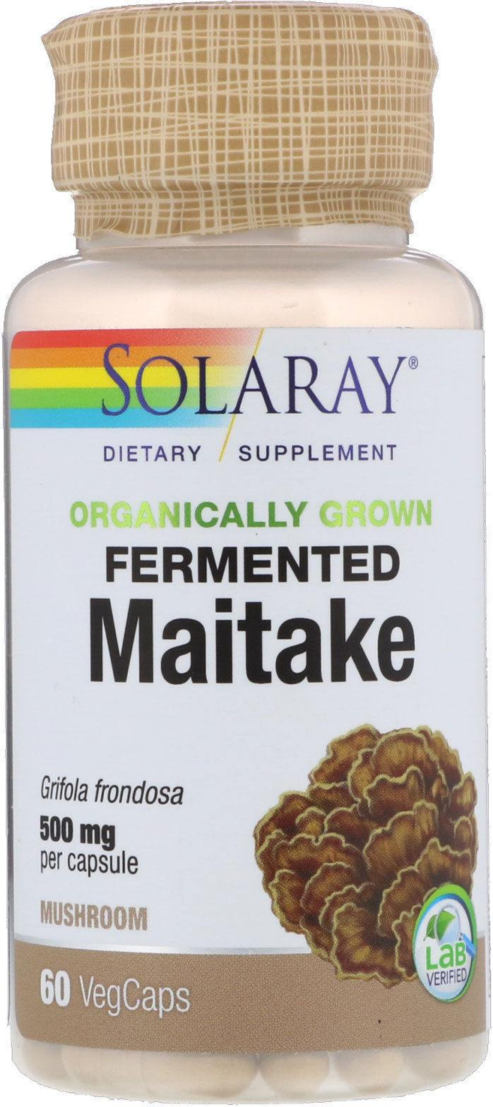 Solaray Maitake 500 Mg 60 Vcaps