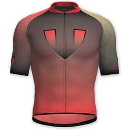 Vió Bike Wear Maillot Manga Corta Ciclismo Hombre Gold Edition Red 1 Short Sleeve Jersey Vió