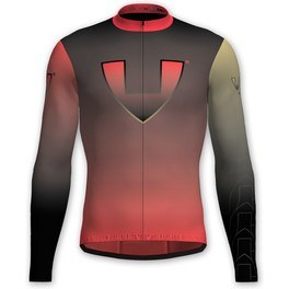 Vió Bike Wear Maillot Manga Larga Ciclismo Invierno Hombre Gold Edition Red 1 Winter Long Sleeve Jersey Vió
