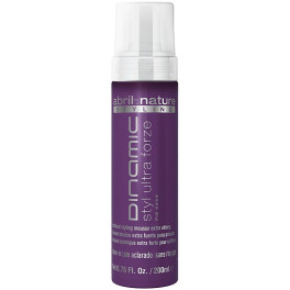 Abril Et Nature Styling Dinamic Styl Ultra Forze Mousse Extra Strong 200 Ml Unisex