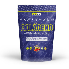 Mmsupplements Colágeno + Msm + Magnesio - 250g - Mm Supplements - (naranja)