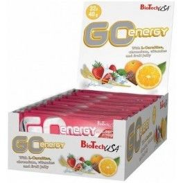 BioTechUSA GO Energy Bar 32 barritas x 40 gr