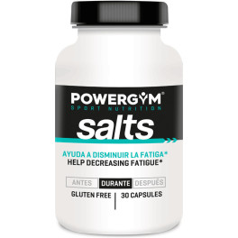 Powergym Salts - 30 Cápsulas