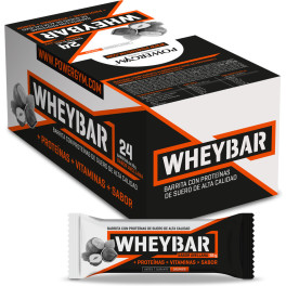 Powergym Whey Bar - Caja De 24 Barritas Avellana