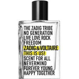 Zadig & Voltaire This Is Us Eau de Toilette Vaporizador 30 Ml Unisex