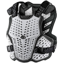 Troy Lee Designs Rockfight Chest Protector White Youth