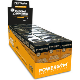 Powergym Thermocarnitin Xl - Caja 24 Viales Limón