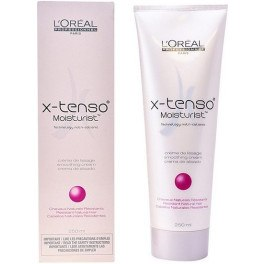 L'oreal Expert Professionnel X-tenso Smoothing Cream Resistant Natural Hair 250 Ml Unisex