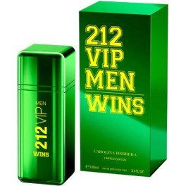 Carolina Herrera 212 Vip Men Wins Limited Edition Eau de Parfum Vaporizador 100 Ml Hombre