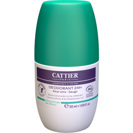 Cattier Desodorante Roll-on 24 H 50 Ml