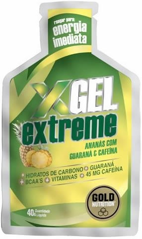 Gold Nutrition Extreme Gel con Guaraná 24 geles x 40 gr