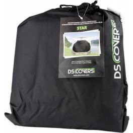 Ds Covers Funda Para Portabicis Star Negro (2-3 Bicis)