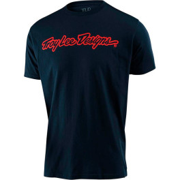 Troy Lee Designs Signature Tee Navy Xl