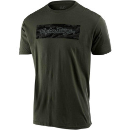 Troy Lee Designs Signature Block Camo Tee Surplus Green Xl