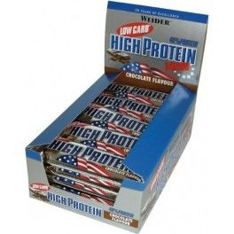 Weider 40% Low Carb High Protein Bar 24 barritas x 50 gr