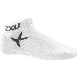 2XU Calcetines Hombre Performance Low Rise Blanco