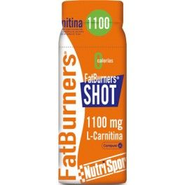 Nutrisport Fat Burners Shot 20 botellitas x 60 ml Quemagrasas