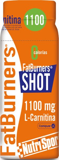 Nutrisport Fat Burners Shot 20 botellitas x 60 ml