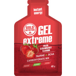 Gold Nutrition Extreme Gel con Taurina 1 gel x 40 gr