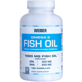 Weider Omega 3 Fish Oil 180 caps