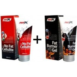 Pack Amix Fat Burner Gel + No Fat & Cellulite 2 botes x 200 ml