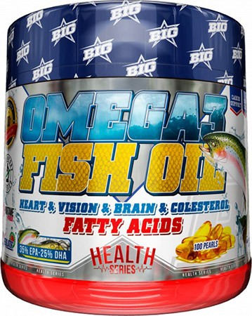 BIG Omega 3 Fish Oil 100 caps