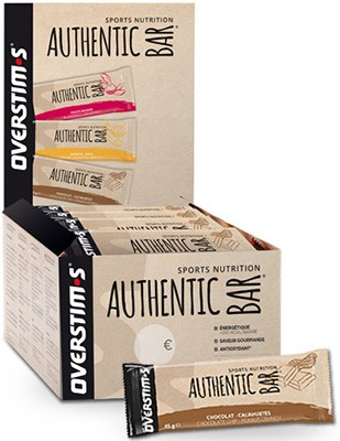 Overstims Authentic Bar 25 barritas x 65 gr