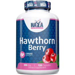 Haya Labs Haya Hawthorn Berry 300 Mg. - 120 Caps.