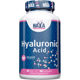 Haya Labs Haya Hyaluronic Acid 40 Mg. - 30 Caps.