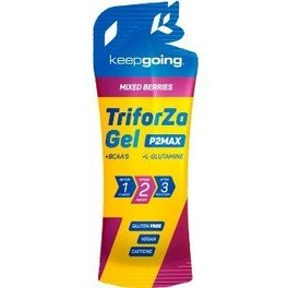 Keepgoing Triforza Gel 40 mg de Cafeína 1 gel x 42 gr