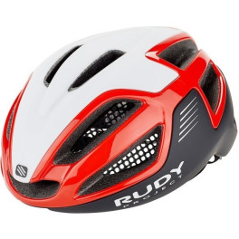 Rudy Project Spectrum Red - Black (shiny) Free Pads + Bug Stop + Pouch Incl.