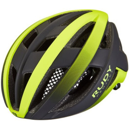 Rudy Project Venger Road Yellow Fluo - Black (matte) Free Pads + Bug Stop Incl.