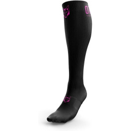 Otso Calcetines Multideporte Recovery Black / Fluo Pink