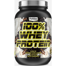 Fullgas 100% Whey Protein Concentrate Arroz Con Leche 900g Sport