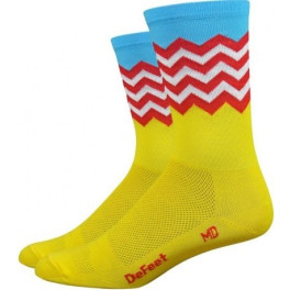"""Defeet Barnstormer 6"""" Fuse (yellow/blue/red/white)"""
