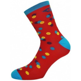 Cinelli Caleido Dots Socks - Red