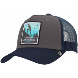The Indian Face Born To Ultratrail Grey / Blue Gorra