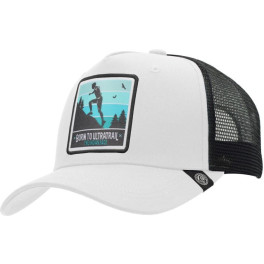 The Indian Face Born To Ultratrail White / Black Gorra