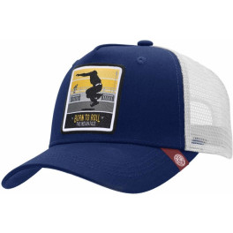 The Indian Face Born To Roll Blue / White Gorra