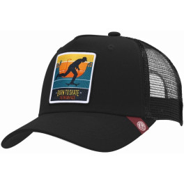 The Indian Face Born To Skate Black Gorra