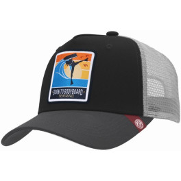 The Indian Face Born To Bodyboard Black / Grey Gorra