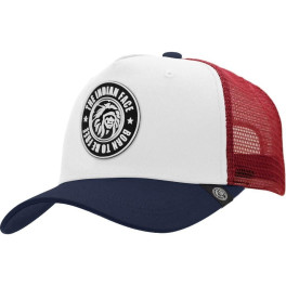 The Indian Face Born To Be Free White / Blue / Red Gorra